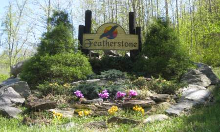 Featherstone Entrance Sign